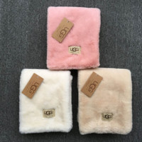 UGG Trending Woman Men Fashion Cashmere Warm Cape Scarf Scarves