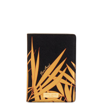 West 57th Palm Leaf Passport Cover