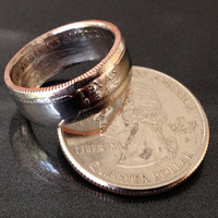 Texas, State Quarter Coin Rings