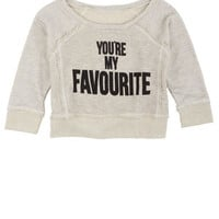 You're My Favourite Pullover - Light Grey