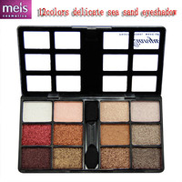 quality classic eye shadow / shimmer 12 color eyeshadow makeup box elegant makeup palette with eye pencil Free shipping ms414