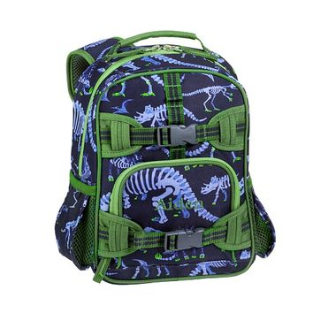 Mackenzie Blue Dino Backpacks | Pottery Barn Kids