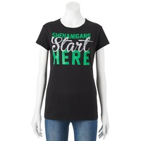Awake ''Shenanigans Start Here'' Tee - Juniors