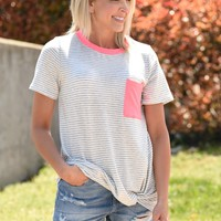 Bright New Day Top - Neon Pink
