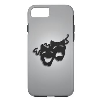 Comedy and Tragedy Theater Masks iPhone 7 iPhone 7 Case