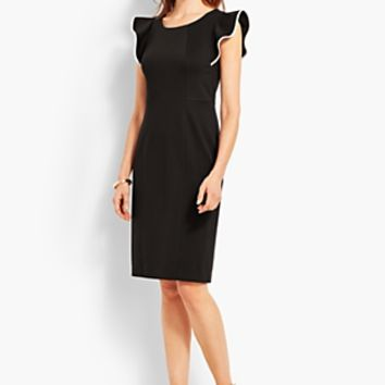 Ponte Tipped Sheath | Talbots