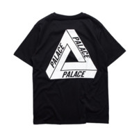 Palace Skateboard Casual Loose Short Sleeve Cotton T Shirt Top