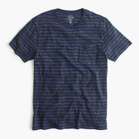 J.Crew Mens Flagstone Pocket T-Shirt In Admiral Stripe