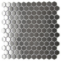 Hexagon Stainless Steel Tile