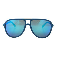 dolce & gabbana dg 6092 2894/25 - turquoise rubber blue/green by dolce & gabbana 58-15-140 mm