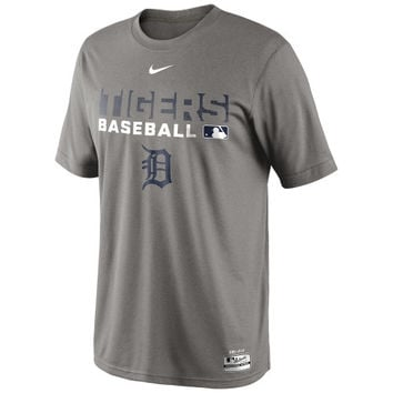 Nike Detroit Tigers 2014 Legend Team Issue Performance T-Shirt - Gray