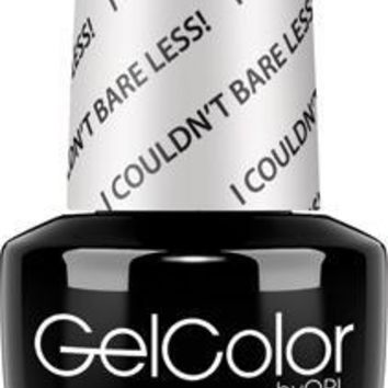 OPI GelColor- I Couldn't Bare Less 0.5 oz - #GCT70 (Original Bottle Design)