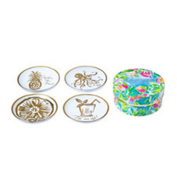 Ceramic Coasters | 500970 | Lilly Pulitzer