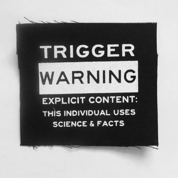 Trigger Warning Patch