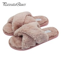 Women Comfortable Indoor House Slippers Flat shoes