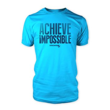StrongerRx Achieve the Impossible Men's Shirt