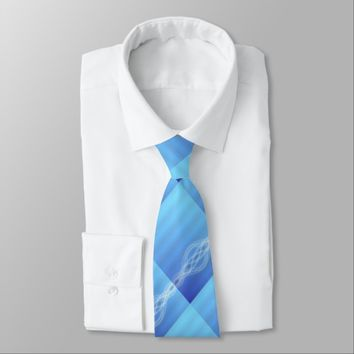 Blue Lights Tie