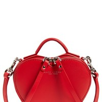 MARC BY MARC JACOBS Heart Leather Crossbody Bag | Nordstrom