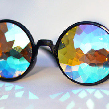 h0les kaleidoscopic glasses