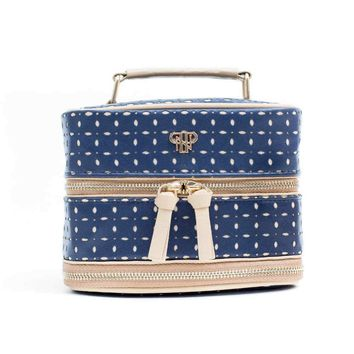 Tiara Vacationer Jewelry Case - Blue Dunes