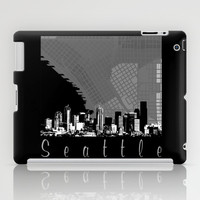 Seattle Skyline iPad Case by Upperleft Studios