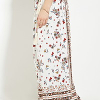 Belted Floral Print Maxi Skirt | Forever 21 - 2000185124
