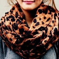 CUTE LEOPARD SCARF for girls