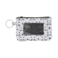 Zip ID Peek-A-Boo Kitty Face Coin Purse