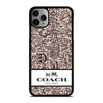 COACH NEW YORK ABSTRACK iPhone Case Cover