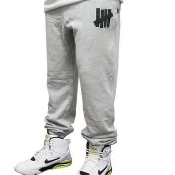 Undefeated 5 Strike Terry Sweatpants In Grey Heather