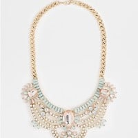 Pastel Princess Statement Necklace