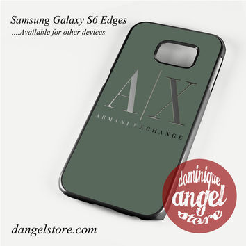 armani exchange Phone Case for Samsung Galaxy S3/S4/S5/S6/S6 Edge