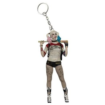 Suicide Squad Harley Quinn Version 1 Key Chain - Elephant Gun - Suicide Squad - Key Chains at Entertainment Earth