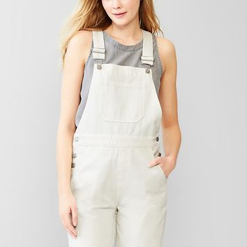 Gap Women 1969 Denim Bermuda Overalls