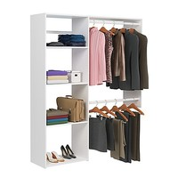 Easy Track 5-Foot Shelving Closet Kit