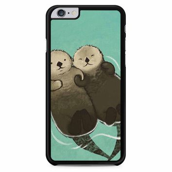 Significant Otters Otters Holding Hands iPhone 6 Plus / 6S Plus Case