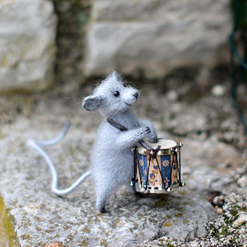Knitted toys mouse stuffed animals mouse knitted handmade mouse toys woodland gift for mouse lover grey mouse soft sculpture