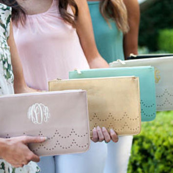 Monogrammed Ava Clutch, Personalized Ava Clutch Purse, Sorority Bags, Bridesmaid Purses