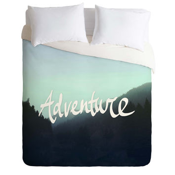 Leah Flores Adventure 2 Duvet Cover