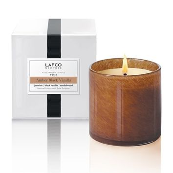 Amber Black Vanilla 'Foyer' Candle
