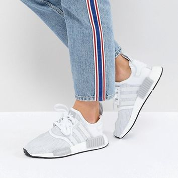 adidas Originals NMD R1 Sneakers In White at asos.com