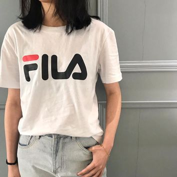 FILA Summer Classic Short sleeve T-shirt