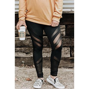 Mesh About Me Leggings