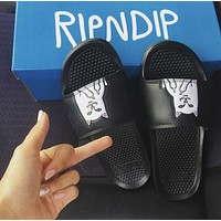 Ripndip Says The Cat Cat Lovers Refers To Fashion Slippers Shoes