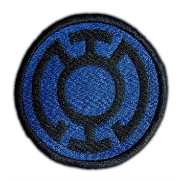Blue Lantern Corps Emblem Patch