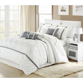 Chic Home Vermont 12 Piece Comforter Set & Reviews | Wayfair