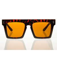 Back To Business Sunglasses - Dark Tortoise