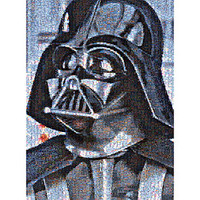 Star Wars Darth Vader Photomosaic Jigsaw Puzzle