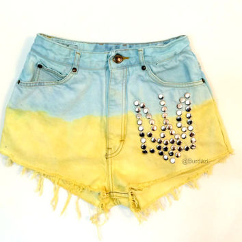 Ukie Pride High Waisted Shorts