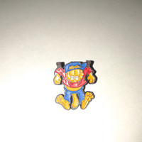 Vintage Garfield Pin Hanging on Clothesline  - Paws  M.D.Toys  Belgium